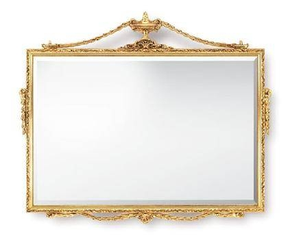 Mirror Gold Frame. Versailles Gold Framed Mirror (#20 of 30)