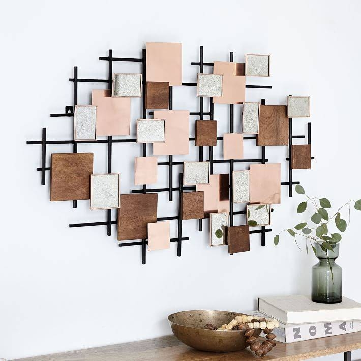 Mirror Landscape Wall Art | West Elm With Landscape Wall Mirrors (#14 of 30)