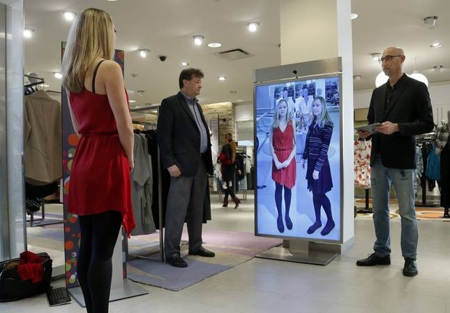 Mirror, Mirror On The Wall: Smart Mirrors Boost Sales | The Center Inside Shopping Mirrors (#16 of 30)