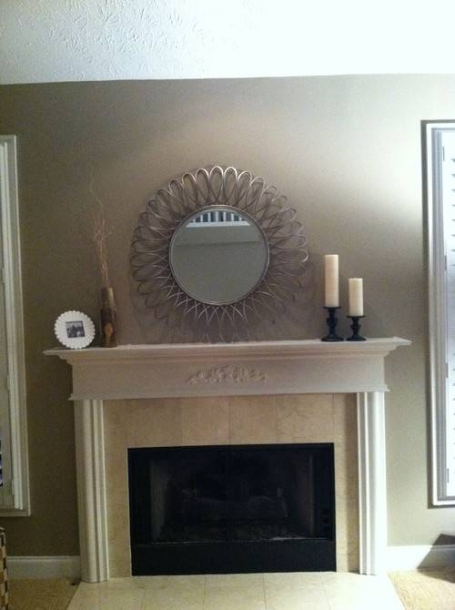 Mirror Over Fireplace?? Intended For Mantelpiece Mirrors (#20 of 30)