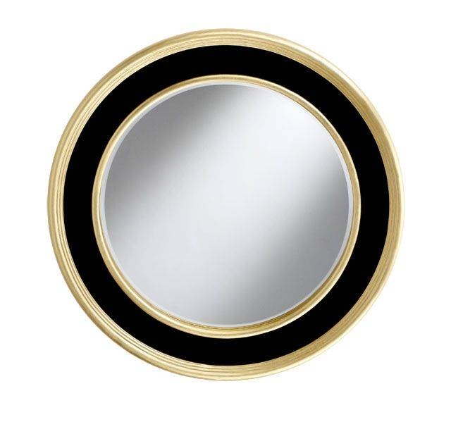 30 best collection of large round black mirrors for Large contemporary mirrors