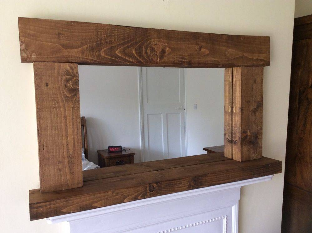 Mirror : Rustic Wood Mirror Is Best House Decoration For You Use With Rustic Oak Mirrors (#10 of 20)