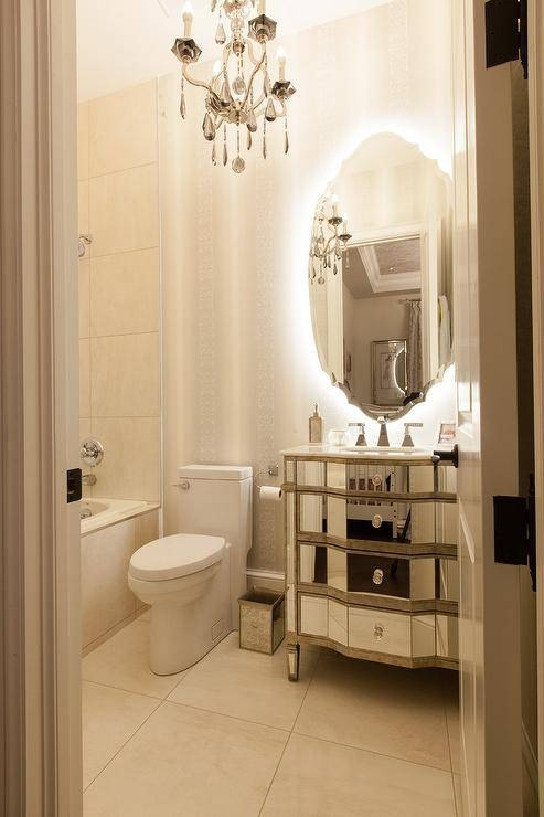 Mirrored Bathroom Vanity – French – Bathroom In French Bathroom Mirrors (#27 of 30)
