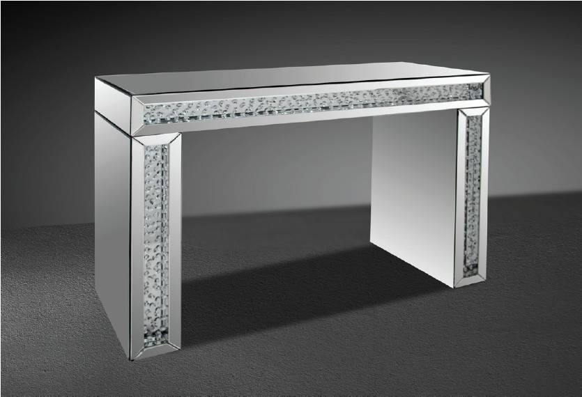 Mirrored Console Tables Our Location 2050 Sw 30Th Ave Hallandale For Mirrors With Crystals (#23 of 30)