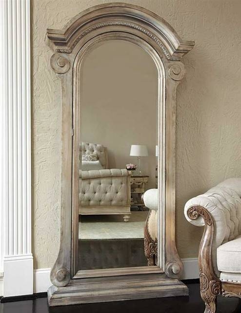 Mirrored Jewelry Safe Throughout Victorian Floor Mirrors (#19 of 30)