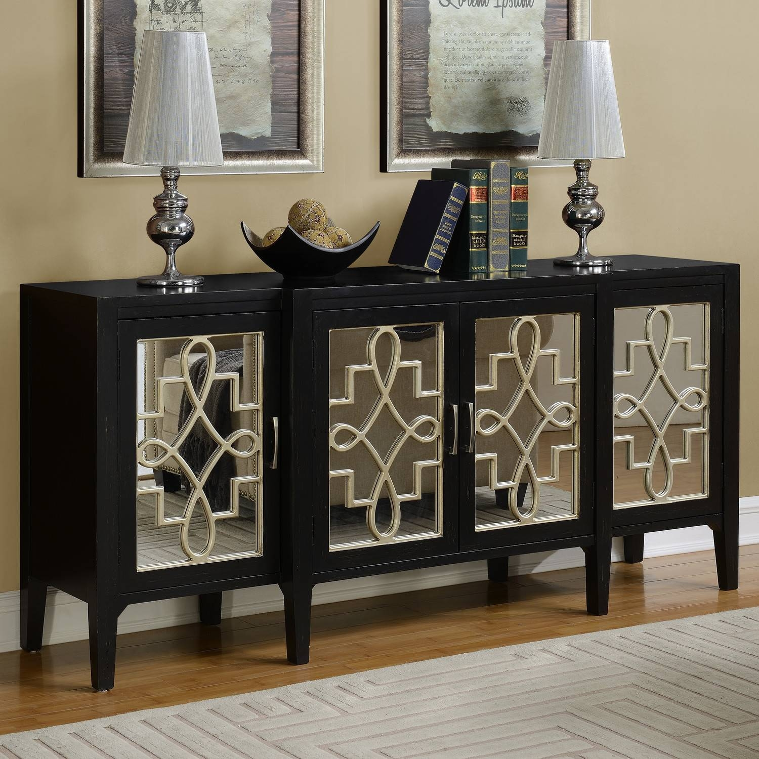 Mirrored Sideboards And Buffets – Harpsounds (#9 of 20)
