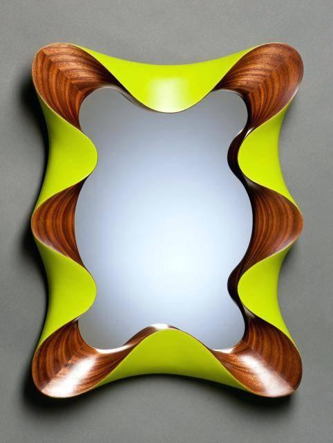 Mirrorfunky Long Wall Mirrors Funky Bathroom – Shopwiz Regarding Funky Wall Mirrors (#26 of 30)