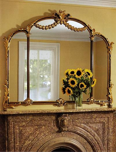 Mirrors And Over Mantel Mirrors Within Mantle Mirrors (#25 of 30)