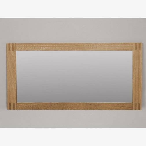 Mirrors | Bring Light To Your Room | Oak Furniture Land Inside Oak Wall Mirrors (#7 of 15)