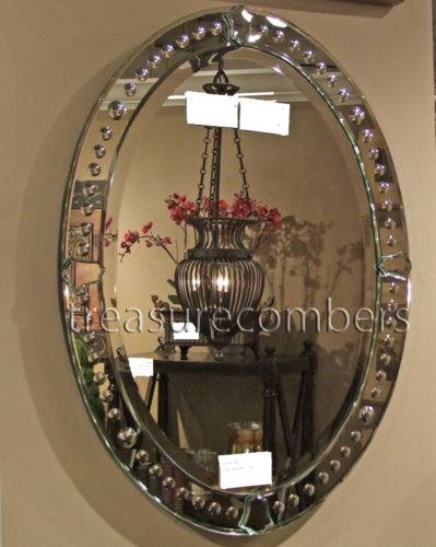 Mirrors Collection On Ebay! For Oval Bevelled Mirrors (#19 of 30)