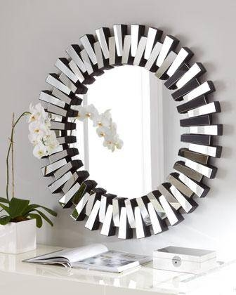 Inspiration about Mirrors – Contemporary Round Mirror In Designer Round Mirrors (#18 of 20)