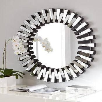 Mirrors – Contemporary Round Mirror Pertaining To Contemporary Round Mirrors (View 15 of 20)