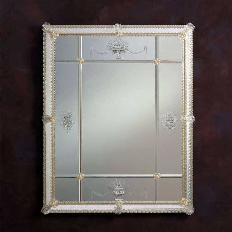 Mirrors – Decorative Crafts Throughout Square Venetian Mirrors (#9 of 20)