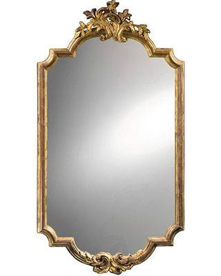 Mirrors – Decorative Mirrors And Carved Italian Mirrors With Regard To Silver Baroque Mirrors (#16 of 30)