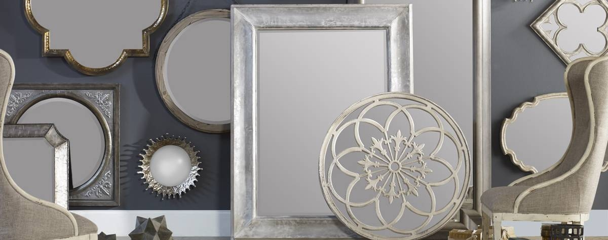 Mirrors, Decorative Mirrors, Wood Mirrors | Uttermost Intended For Odd Shaped Mirrors (#11 of 20)