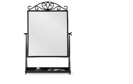 30 photo of black free standing mirrors