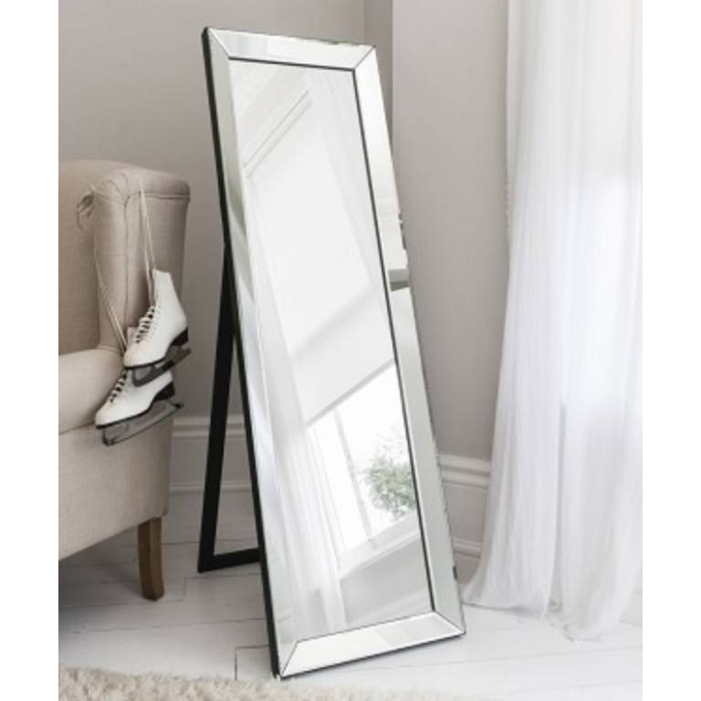 Long Mirror Jewelry Armoire