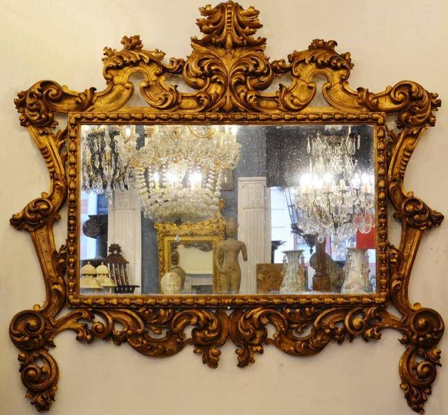 Mirrors – Galerie Des Minimes Regarding Large Baroque Mirrors (#18 of 20)