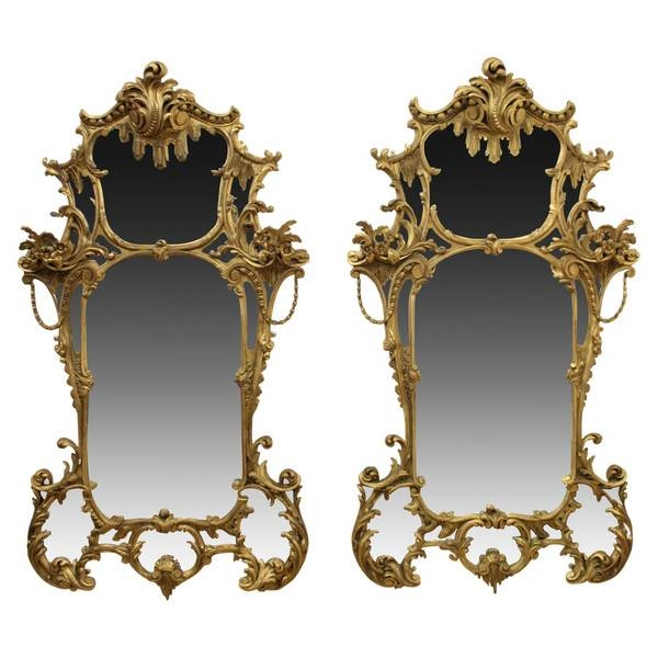 Mirrors Gilt George Iii – The Uk's Premier Antiques Portal Intended For Rococo Style Mirrors (#17 of 30)