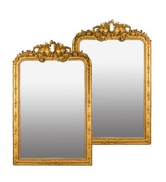 Mirrors Gilt Regency – The Uk's Premier Antiques Portal – Online Throughout Gilt Mirrors (View 7 of 20)