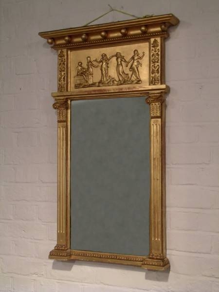 Mirrors Gilt Regency – The Uk's Premier Antiques Portal – Online Within Antique Gilt Mirrors (#16 of 20)