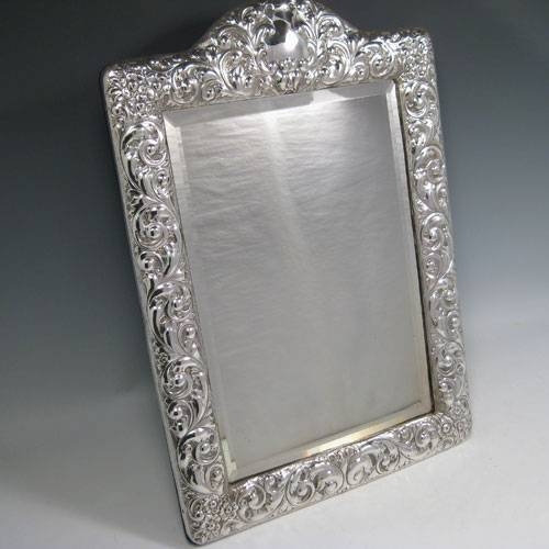Mirrors In Antique Sterling Silver Bryan Douglas Antique Sterling With Regard To Large Silver Vintage Mirrors (#26 of 30)