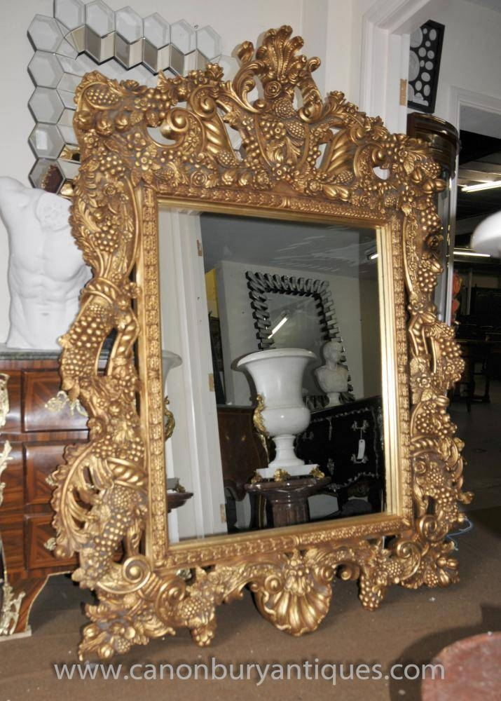 Mirrors – Inculding French Rococo, English Victorian, Art Deco And With Large Baroque Mirrors (#19 of 20)