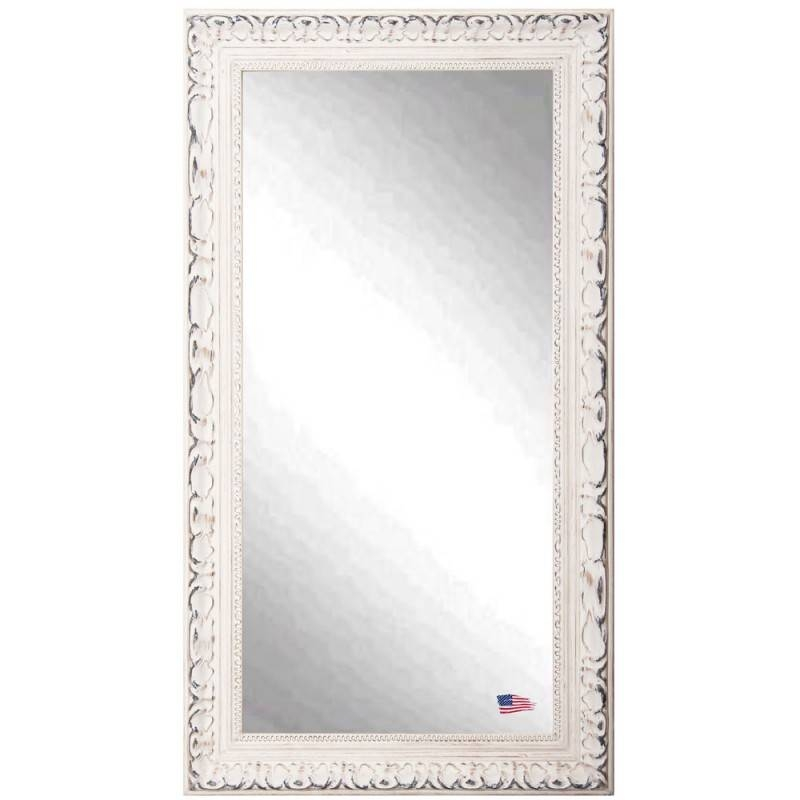Mirrors Jovie Jane French Victorian White Floor Mirror Ry R039T For Victorian Floor Mirrors (#20 of 30)