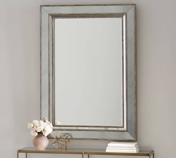 Mirrors | Pottery Barn With Vintage Large Mirrors (#26 of 30)