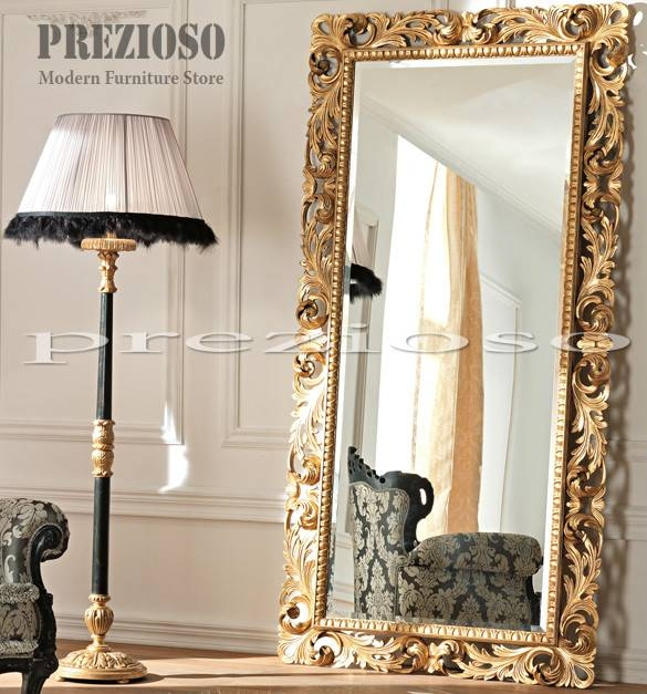 Mirrors – Prezioso Intended For Ornate Floor Mirrors (#23 of 30)