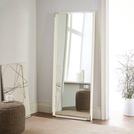 Mirrors – Rectangular Large Floor Mirror Intended For Large White Floor Mirrors (#29 of 30)