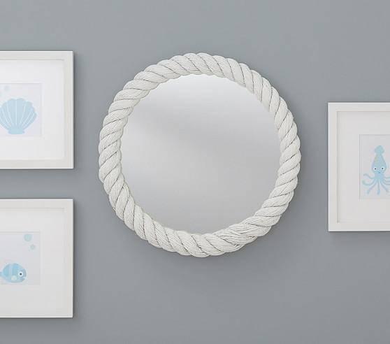 Mirrors – Round White Mirror Inside White Round Mirrors (#18 of 30)