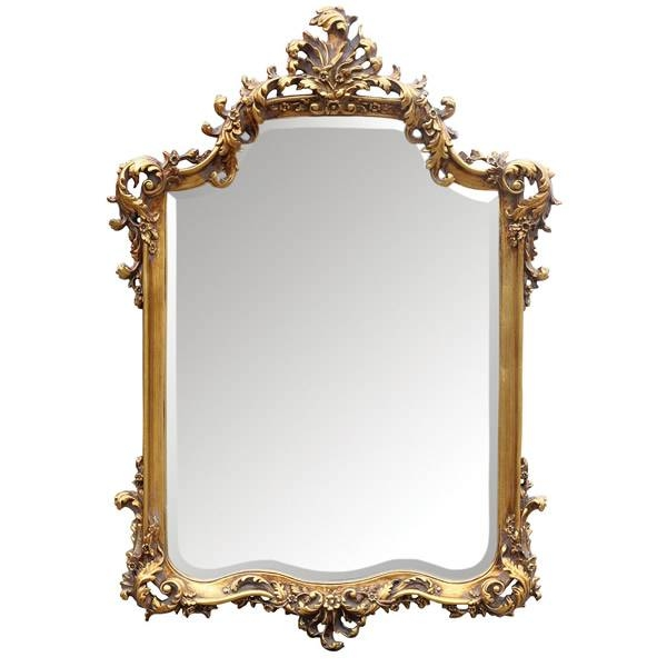 Mirrors That Will Change Your House – In Decors In Gold Ornate Mirrors (#16 of 20)