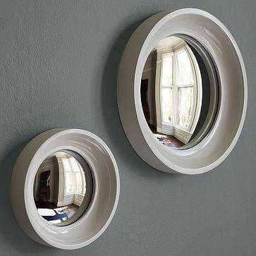 Mirrors – West Elm With Regard To White Convex Mirrors (#20 of 30)