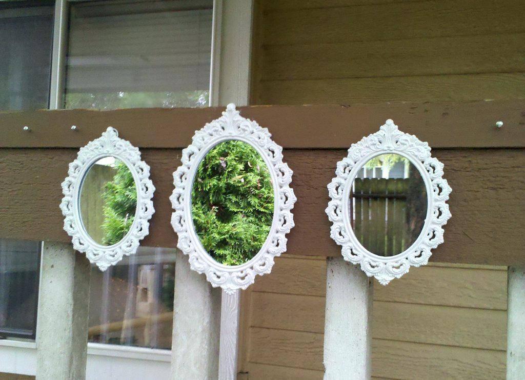 Mirrorsmall Decorative Wall Mirror Set Round Mirrors – Shopwiz Intended For Decorative Small Mirrors (#14 of 20)
