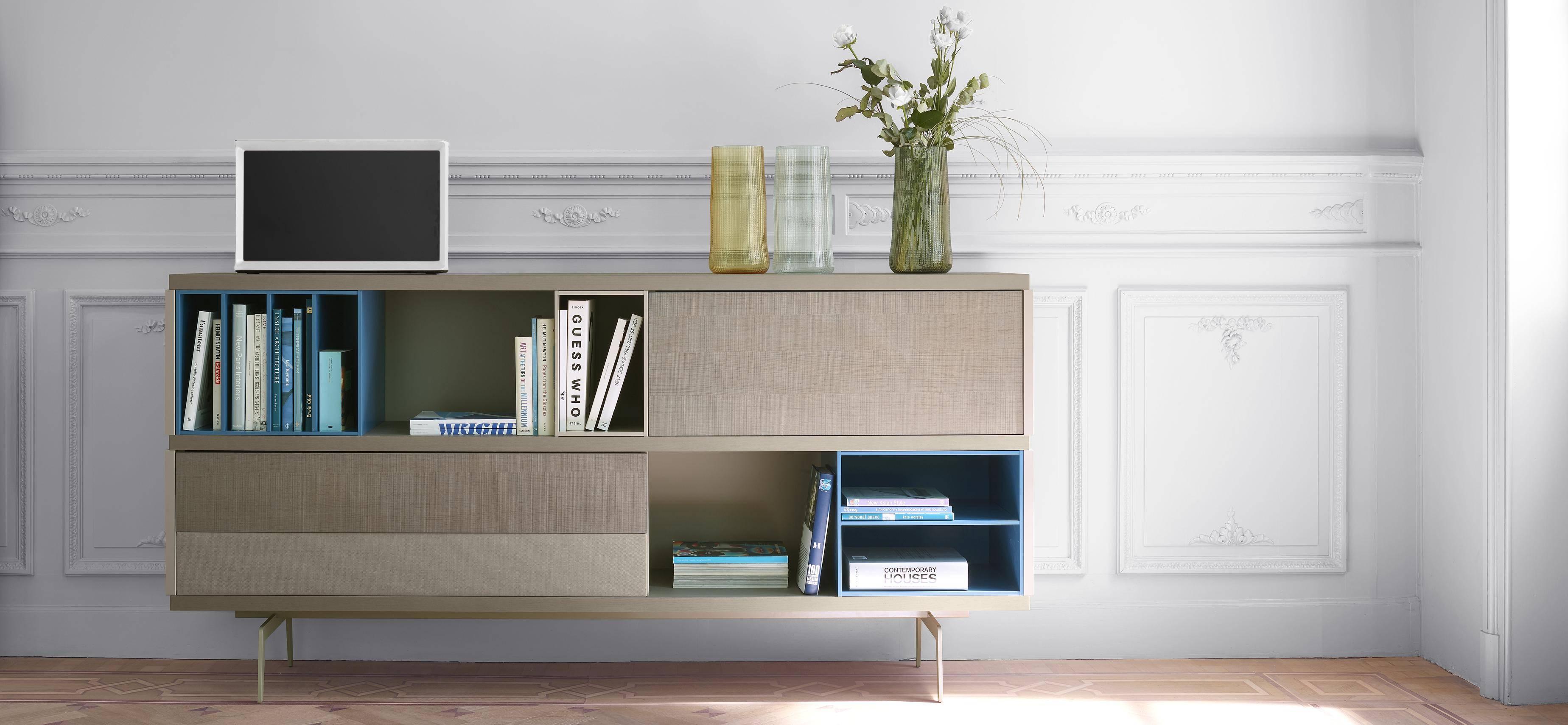 Mixte Living Room, Sideboards Designer : Mauro Lipparini   Ligne Roset Within Sideboard For Living Room (#14 of 20)