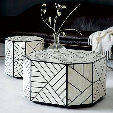 Modern Accent Tables | West Elm With Occasional Tables Mirrors (#28 of 30)