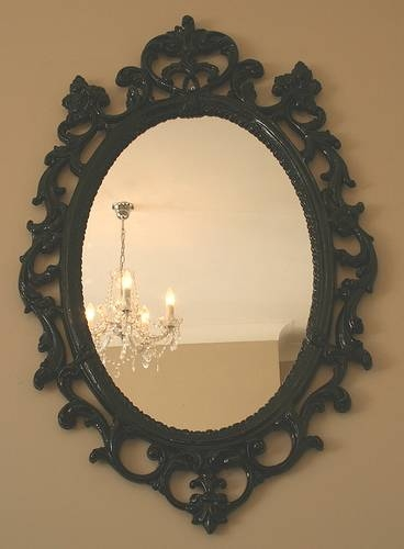 Modern Baroque Black Gloss Mirror – A Photo On Flickriver With Baroque Black Mirrors (#18 of 20)