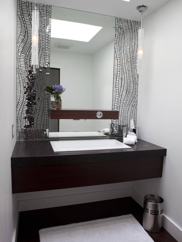 Modern Bathroom Mirrors Pertaining To Modern Contemporary Mirrors (#22 of 30)