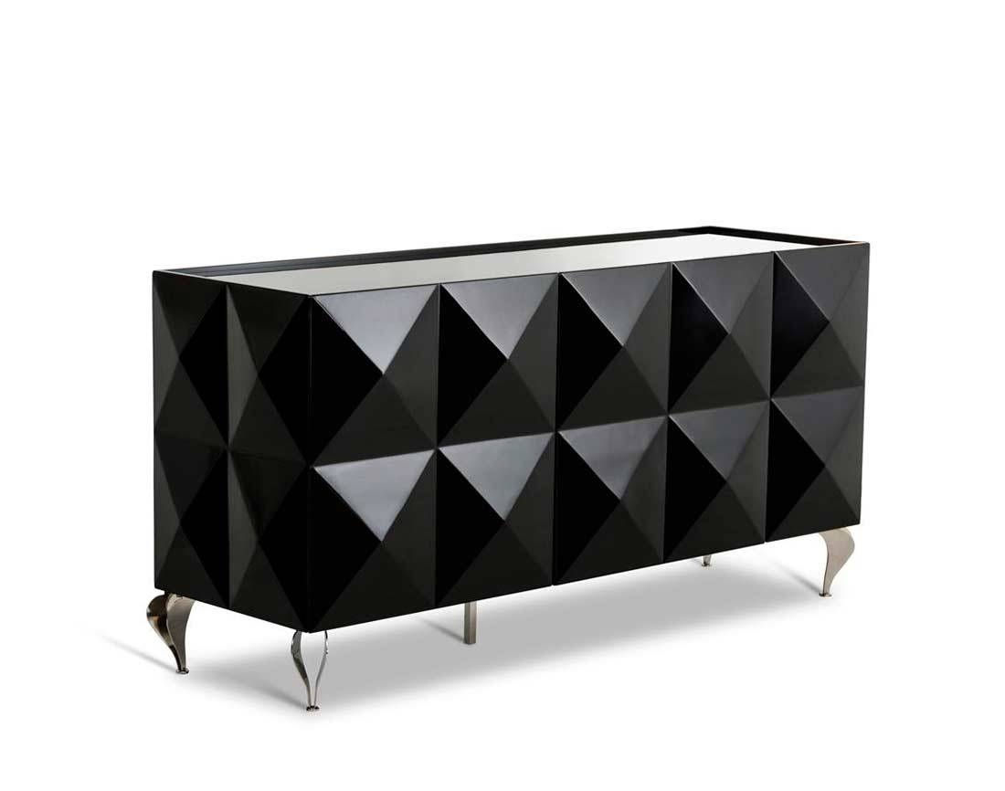 Popular Photo of Black Gloss Buffet Sideboard