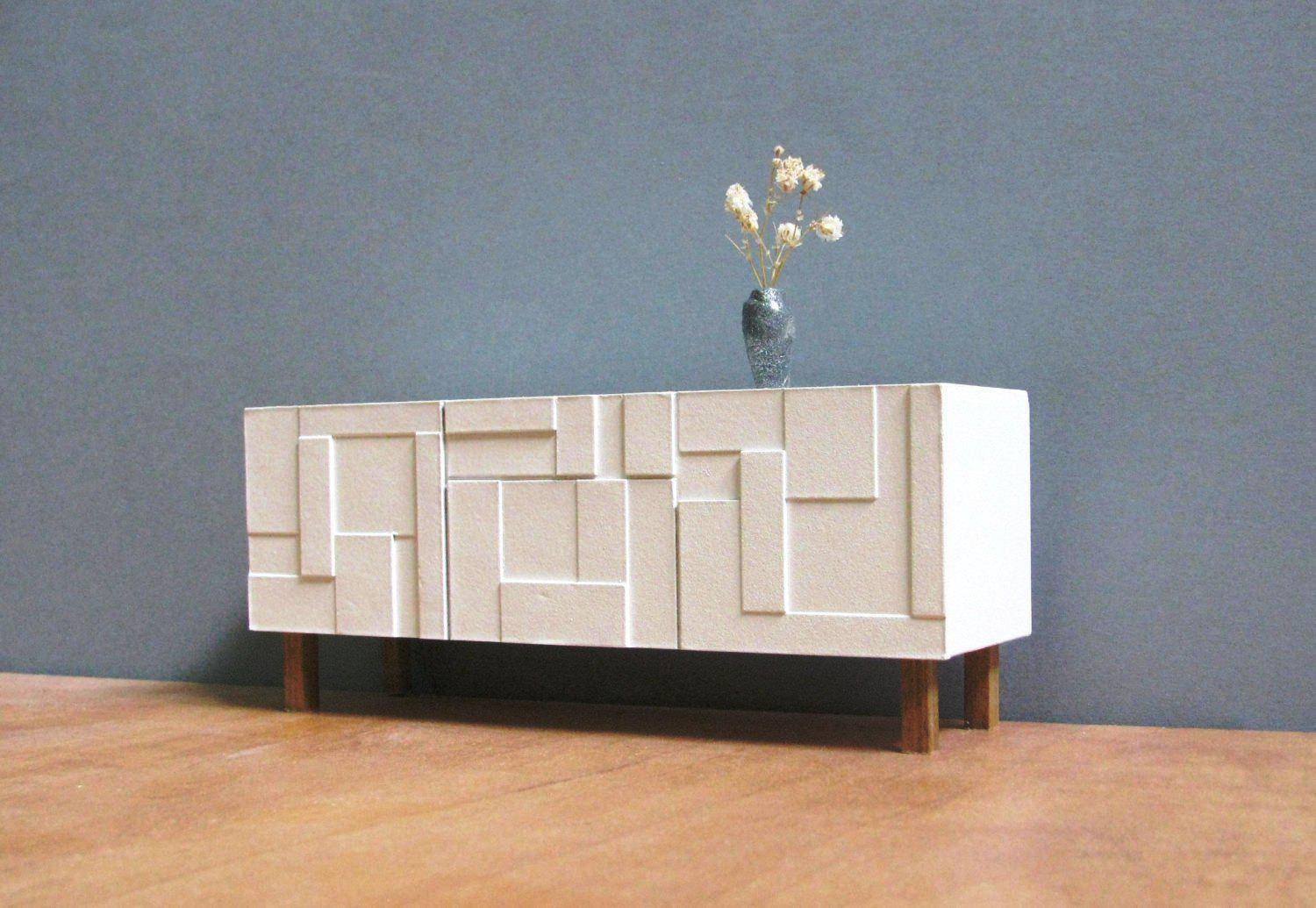 Modern Contemporary Credenza Media Sideboard Cabinet – Surripui With Contemporary Sideboard Cabinet (View 11 of 20)