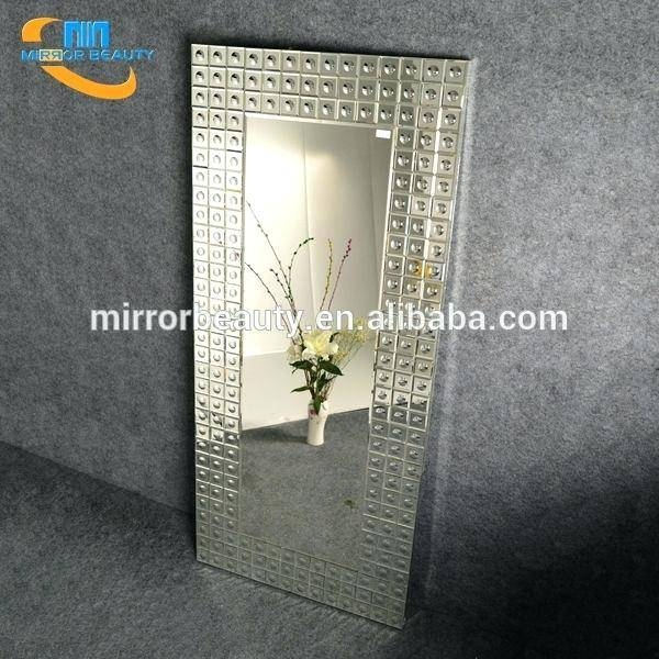 Modern Decorative Full Length Wall Mounted Dressing Mirror With Regarding Decorative Full Length Mirrors (#16 of 20)