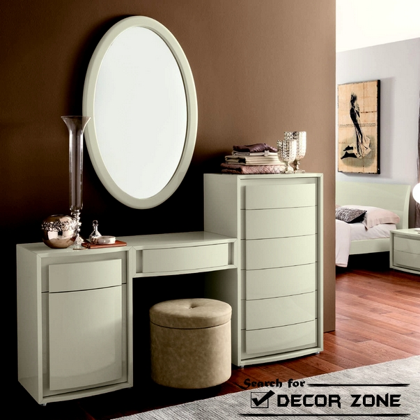 Modern Dressing Table With Mirror: 15 Creative Designs For Dressing Mirrors (#18 of 20)