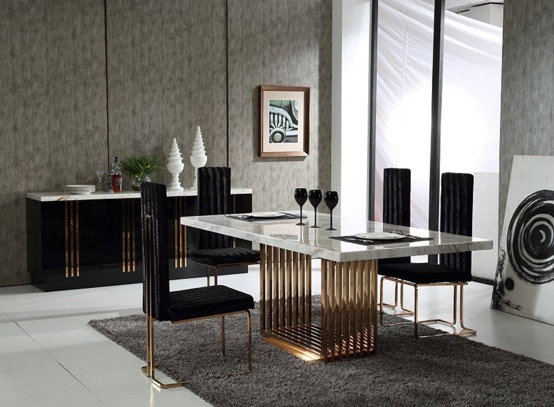 Formal glass dining