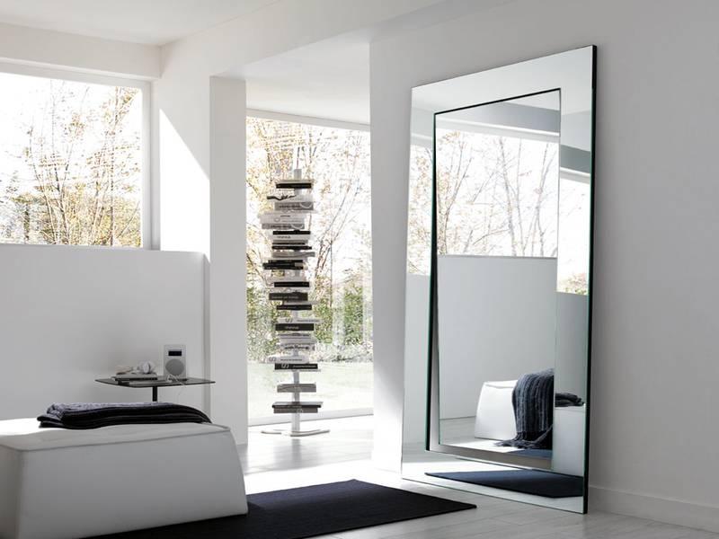 Modern Full Length Mirrors, Contemporary Full Length Mirror Inside Large Modern Mirrors (#17 of 20)