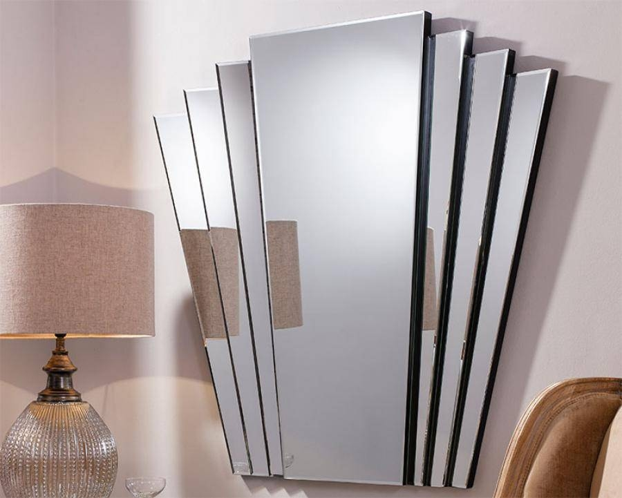 Modern Gallery Direct Vintage Art Deco Style Gatsby Wall Mirror For Art Deco Style Mirrors (#18 of 20)