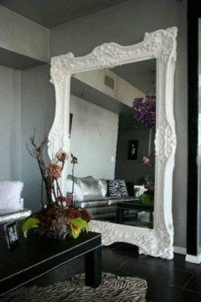 Modern Large Wall Mirror – Foter Throughout Huge Wall Mirrors (#29 of 30)