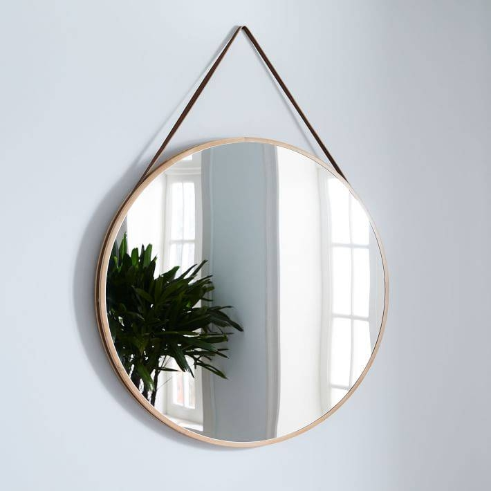 Modern Mirror | West Elm Within Modern Mirrors (#14 of 20)