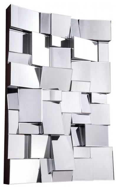 Modern Mirrorelegant Lighting – Contemporary – Wall Mirrors For Modern Contemporary Mirrors (#23 of 30)