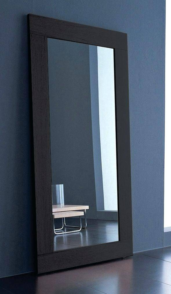 Modern Mirrors Large Contemporary Floor Minimalist Foyer Loft Diy Inside Large Contemporary Mirrors (#25 of 30)